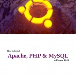 Cover for DG Official E-book How to Install Apache, PHP & MySQL in Ubuntu 12.10