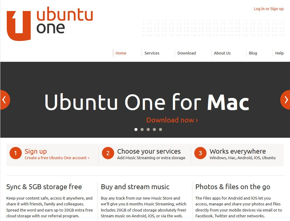Ubuntu One by Ubuntu OS
